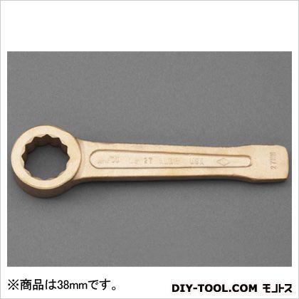 打撃めがねレンチ(ノンスパーキング) 38mm (EA642LA-138)