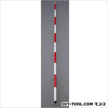 エスコ/esco 測量用伸縮ポール 3.0m EA720MF-24
