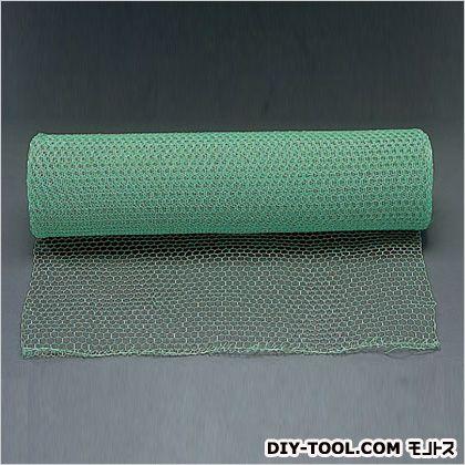 目亀甲網(鉄ビニール被覆) 緑 0.91×30m/26mm (EA952AC-32)
