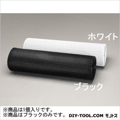 目亀甲網(鉄ビニール被覆) 黒 0.91×30m/16mm (EA952AC-84)