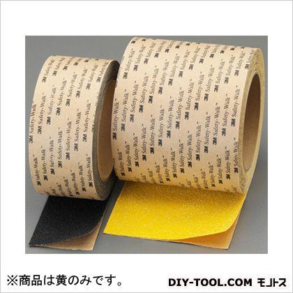 滑り止めテープ(屋外・凸凹面用) 黄 100mm×18m (EA944DL-15)