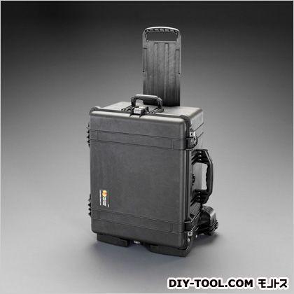エスコ/esco 545x417x318mm/内寸防水ケース(黒/ウレタン無) EA657-162MN