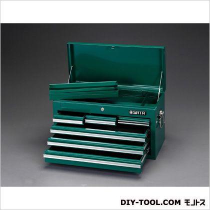 エスコ/esco 660x305x380mmツールチェスト 660(W)×305(D)×380(H)mm EA683ZD-2