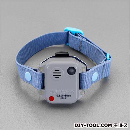 エスコ 高圧活線接近警報器(上腕取付型/50Hz) 52(W)×16(D)×40(H)mm EA707DW-1