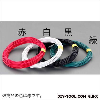 2.0mm2x100mIV電線(撚線) 赤 (EA940AT-61)