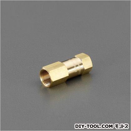 "Rc3/4""ラインチェックバルブ(高圧用) 29mm×75mm (EA153EE-26)"