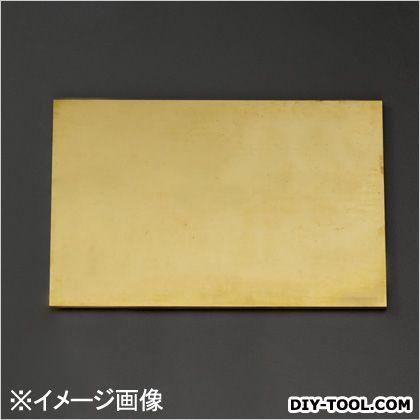 ※法人専用品※エスコ(esco) 黄銅板 600x300x7mm EA441VB-74
