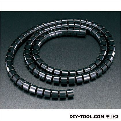 25mmx20mスリットチューブ 黒 (EA944BS-25BA) 1本