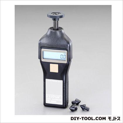デジタル回転計[接触/非接触兼用] 58(W)×28(D)×122(H)mm (EA714KB)