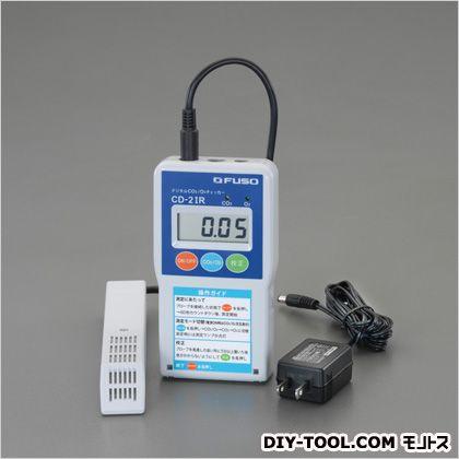 エスコ/esco デジタルCo2・O2計 76(W)×27(D)×145(H)mm EA733CF-2A