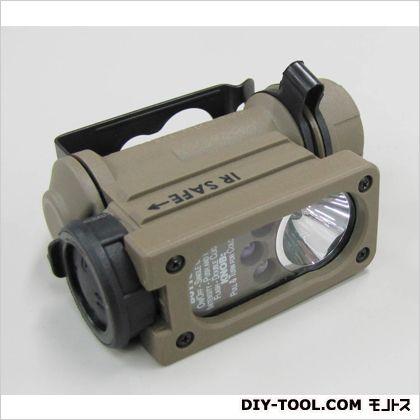 [単3/CR123Ax1本]LEDミリタリーライト 52×27×76(H)mm (EA758SE-20)
