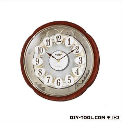 からくり[電波]掛時計 φ385×115mm (EA798CB-30A)