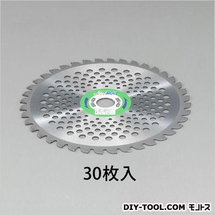 エスコ(esco) 255mmx40T超硬チップソー(草刈機用/30枚) EA898B-62