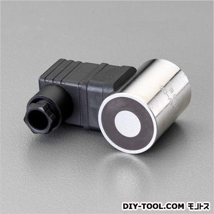 DC24V/直径35mm電磁マグネットホルダー D:φ35mm、L:48mm、b:50mm、W:78mm、d1:M5(深さ8mm) (EA984CM-11)