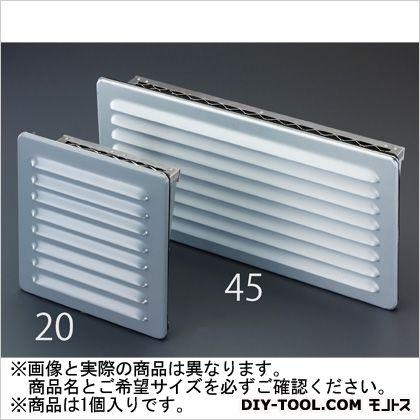350x250x95mm通気ギャラリー(防雨型) 350(W)×95(D)×250(H)mm (EA997ML-30)