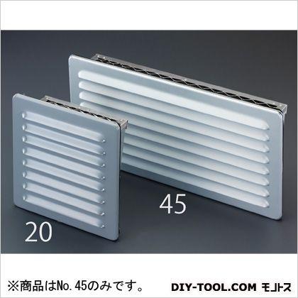 500x250x95mm通気ギャラリー(防雨型) 250×500×95(D)mm (EA997ML-45)