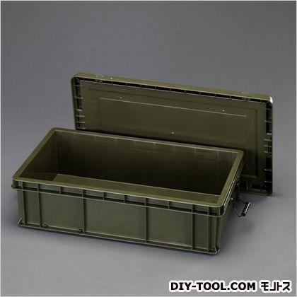 819x475x234mm道具箱(バックル付) OD 外寸:819×475×234(H)、内寸:759×410×209(H) (EA506LS-13)