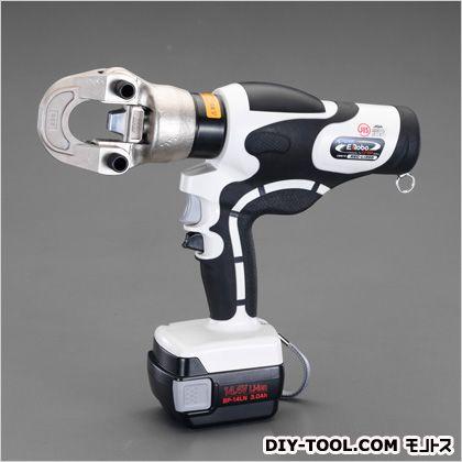 エスコ/esco 14.0-200mm2充電式油圧圧着工具 350×290×75mm EA539PF