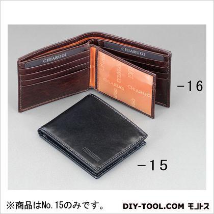 110x92x20mm札入れ(本革製) ブラック 110(W)×20(D)×92(H)mm (EA927TP-15)
