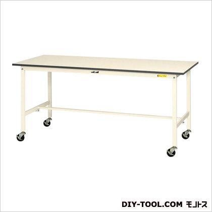 エスコ 1500x750x826mmワークテーブル(キャスター付) 1500(W)×750(D)×826(H)mm EA956TC-6