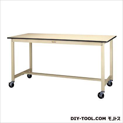 エスコ 1500x750x740mmワークテーブル(キャスター付) 1500(W)×750(D)×740(H)mm EA956TS-8