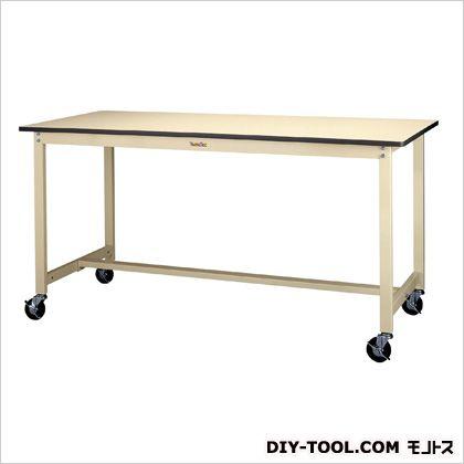 エスコ 1500x750x900mmワークテーブル(キャスター付) 1500(W)×750(D)×900(H)mm EA956TT-8