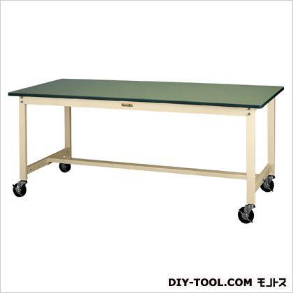 1500x750x900mmワークテーブル(キャスター付) 1500(W)×750(D)×900(H)mm (EA956TT-28)