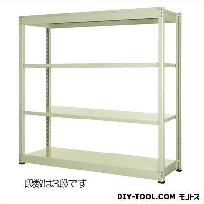エスコ 1800x450x1500mm/150kg/3段スチール棚 1800(W)×450(D)×1500(H)mm EA976DJ-180B