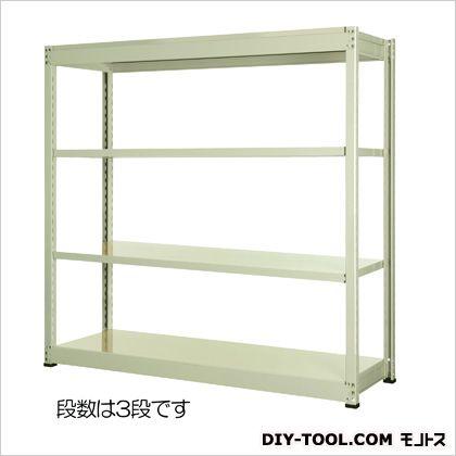 エスコ 1500x600x1200mm/150kg/3段スチール棚 1500(W)×600(D)×1200(H)mm EA976DH-150C