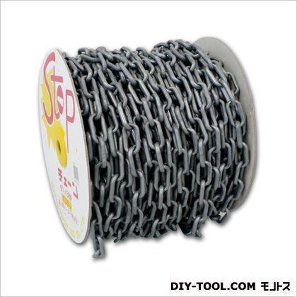 直径6mmx50mプラスチックチェーン(シルバー) シルバー (EA980A-56)