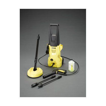 エスコ AC100V1.25kW高圧洗浄機5060Hz  EA115KR-1B