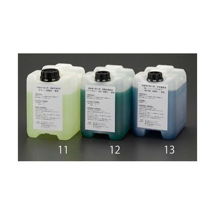 エスコ 5L電解液弱酸性・緑 (EA315SN-12)