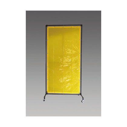 エスコ 1000x2150mm溶接作業フェンスセット黄色 (EA334BE-20Y)