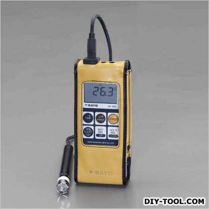 -30°/+400℃防水型デジタル温度計 66(W)×25(D)×175(H)mm (EA701SA-20)