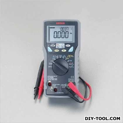 デジタルマルチメーター 86(W)×52(D)×184(H)mm (EA707D-13G)