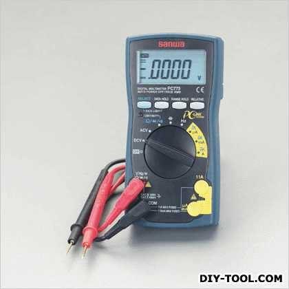 デジタルマルチメーター 82(W)×44(D)×166(H)mm (EA707D-38)