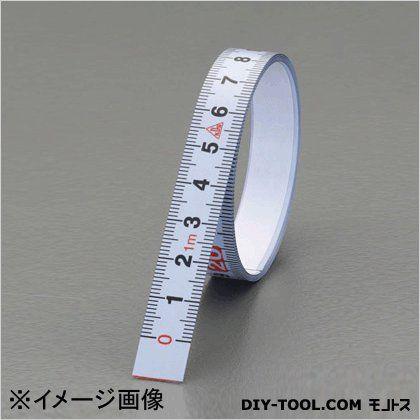 注目ブランド 大注目 粘着テープ付目盛テープ 逆目盛 13mmx2m EA720YY-12