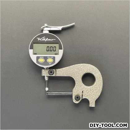 0-10mmパイプシクネスゲージ(デジタル) 171×150mm (EA725A-62)