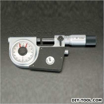 ※法人専用品※エスコ(esco) 25-50mm指示マイクロメーター EA725EL-2