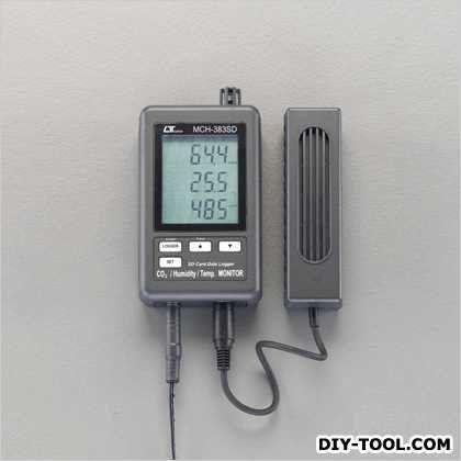 デジタルCo2濃度計[SDカード付] (EA733CF-8)