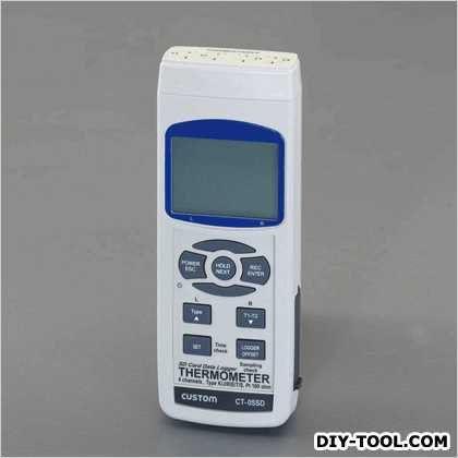 データロガー温度計 68(W)×45(D)×177(H)mm (EA742JA)