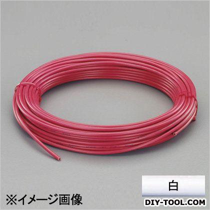 ビニール絶縁電線[KIV] 白 2.0mm2x100m (EA940AN-202B)
