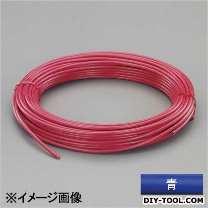 ビニール絶縁電線[KIV] 青 2.0mm2x100m (EA940AN-203B)