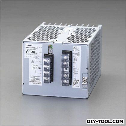 DC24V/300Wスイッチングパワーサプライ(正面取付) (EA940DN-84)