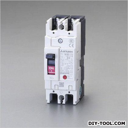AC100-230V/30A/2極漏電遮断器(フレーム50) (EA940MN-13)