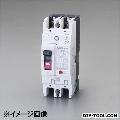 AC100-230V/50A/2極漏電遮断器(フレーム50) (EA940MN-15)