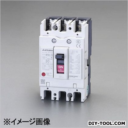 AC100-240V/15A/3極漏電遮断器(フレーム50) (EA940MN-17)