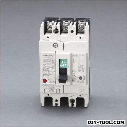 AC100-240V/30A/3極漏電遮断器(フレーム60) (EA940MN-33)