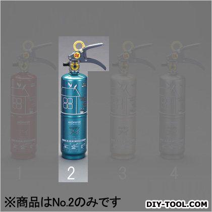 住宅用消火器 エメラルドグリーン 1.0L (EA999MK-2)