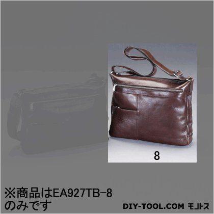 ショルダーバッグ(本革製) ブラウン 380x70x290mm (EA927TB-8)